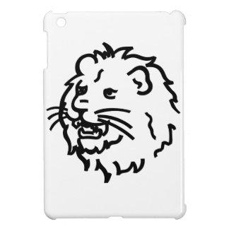 Lion Outline iPad Mini Cover