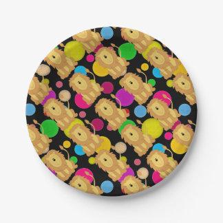 Lion Paper Plate
