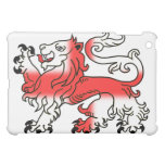 Lion Passant and Saint George's Cross - England iPad Mini Cover