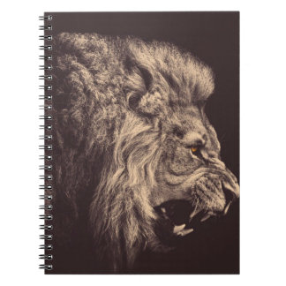 lion pencil art lion roar black and white notebooks