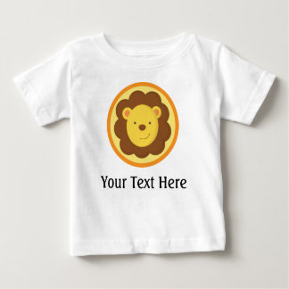 Lion Personalized Baby T Shirt