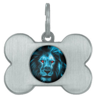Lion Pet ID Tag