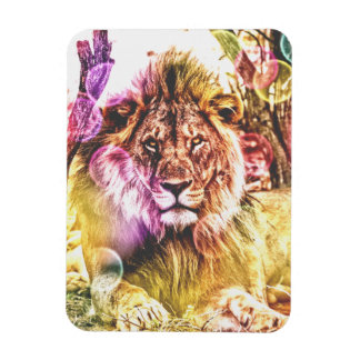 Lion photo magnet