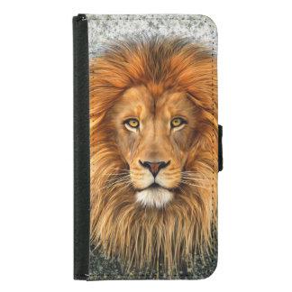Lion Photograph Paint Art image