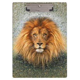 Lion Photograph Paint Art image Clipboard