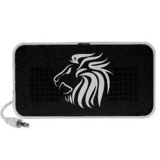 Lion Pictogram Doodle Speaker