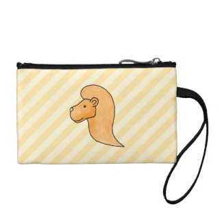 Lion Picture with Stripes. Coin Purse