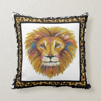 Lion Pillow Two