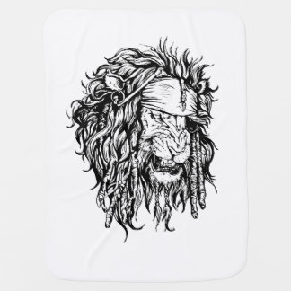 Lion-pirate Baby Blanket