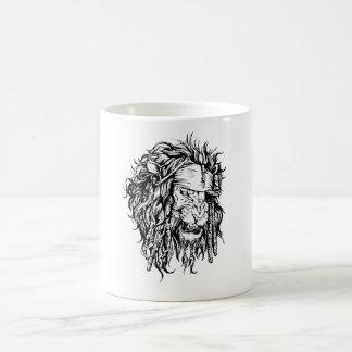 Lion-pirate mag coffee mug