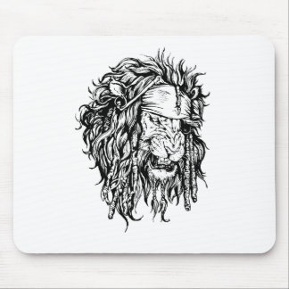 Lion-pirate Mouse Mat
