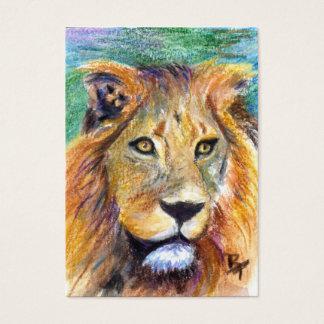 Lion Portrait ACEO Artcard