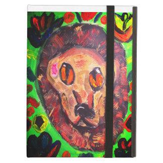 Lion portrait art case for iPad air