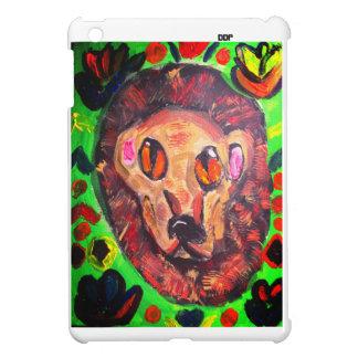 Lion portrait art cover for the iPad mini