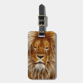 Lion Portrait Luggage Tag
