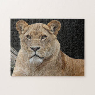 Lion Pose Jigsaw Puzzle