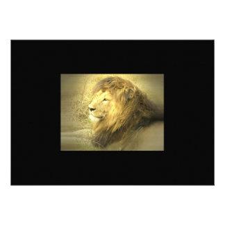 Lion Pride Invitation
