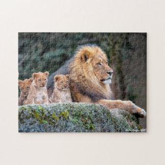 Lion Pride Jigsaw Puzzle