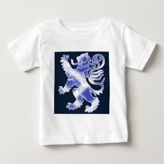 Lion Rampant Blue Baby T-Shirt
