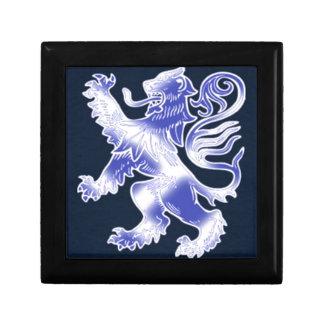 Lion Rampant Blue Gift Box