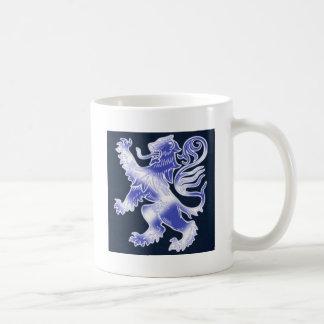 Lion Rampant Blue Mugs