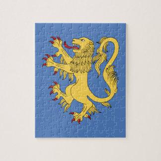 Lion Rampant Jigsaw Puzzle