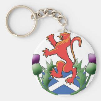 lion rampant key ring