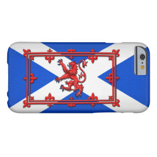 Lion Rampant On Scottish Flag Barely There iPhone 6 Case