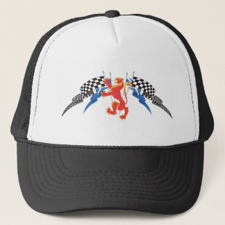 Lion Rampant, Saltires, checks Trucker Hat