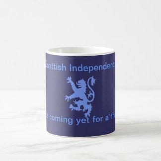 Lion Rampant Scottish Independence Burns Mug