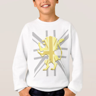 Lion Rampant Union Jack White Sweatshirt