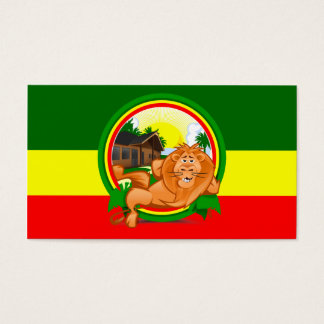 Lion rasta business card