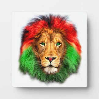 Lion Rasta face Plaque