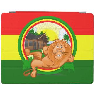 Lion rasta iPad cover