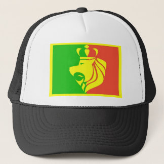 Lion Rasta Reggae Flag Trucker Hat