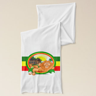 Lion rasta scarf
