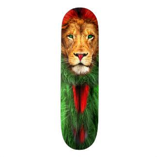 Lion Rasta Skateboard Deck