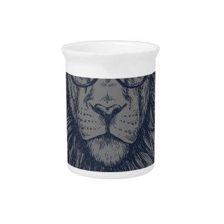 Lion redeye pitcher