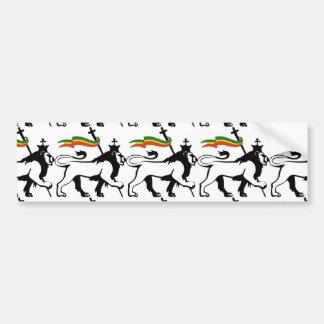 Lion reggae bumper stickers