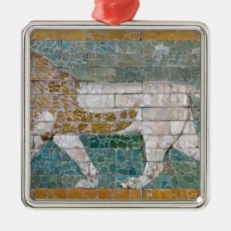 Lion representing Ishtar Christmas Ornament