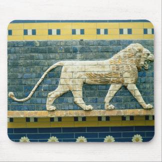 Lion representing Ishtar Mouse Mat