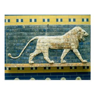 Lion representing Ishtar Postcard