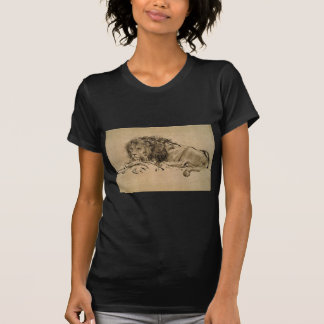 Lion Resting by Rembrandt T-Shirt