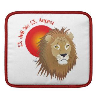 Lion Rickshaw sleeve iPad Sleeves