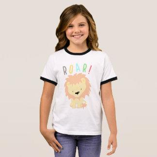 Lion Roar Ringer T-Shirt