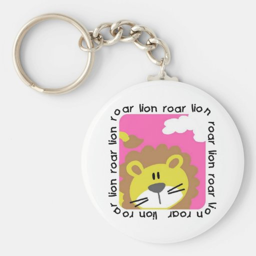 Lion Roar Tshirts and Gifts Key Chain