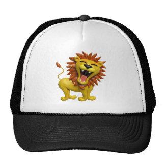 Lion Roaring Cap