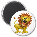 Lion Roaring Magnets