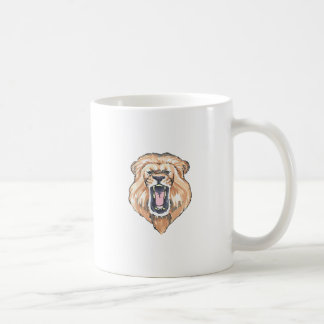 LION ROARING COFFEE MUGS