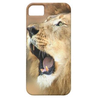 Lion Roaring Portrait Case For iPhone 5/5S